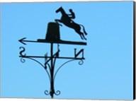 Weathervane Iron Horseman Fine-Art Print