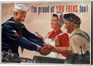 1944 Jon Whitcomb US Navy Fine-Art Print