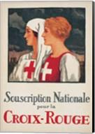 Jules Courvoisier - Souscription Croix-Rouge Fine-Art Print