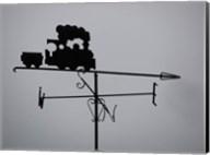 Train Weathervane Fine-Art Print