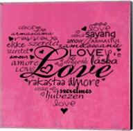 A Love Heart Fine-Art Print