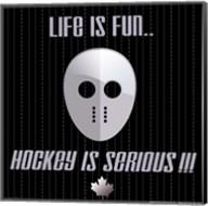 Hockey is Serious Fine-Art Print