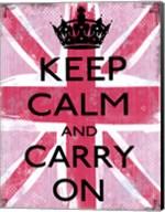 Keep Calm And Carry On 2 Fine-Art Print