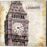 London - square Fine-Art Print