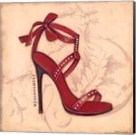 Fashionista Red Heel Fine-Art Print