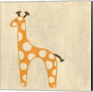 Best Friends- Giraffe Fine-Art Print