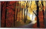 Autumn Road Fine-Art Print