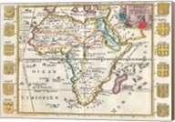 1710 De La Feuille Map of Africa Fine-Art Print