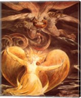 William Blake the dragon Fine-Art Print