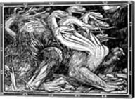 Medieval Dragon I Fine-Art Print