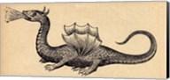 Medieval Dragon II Fine-Art Print
