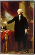 Gilbert Stuart, George Washington Lansdowne Portrait, 1796 Fine-Art Print