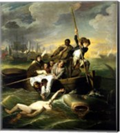 J.S. Copley - Watson and the Shark Fine-Art Print