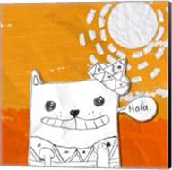 Hola Cat Fine-Art Print