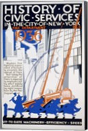History of Civic Services in the NYC Fire Department 1936 Fine-Art Print