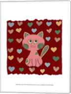 Whimsy Kitty Fine-Art Print