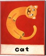 C is for Cat Fine-Art Print