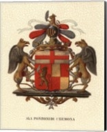 Stately Heraldry III Fine-Art Print