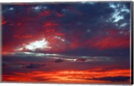 Kihei Red Sunset Fine-Art Print