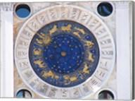 St Marks Venice Clock Fine-Art Print