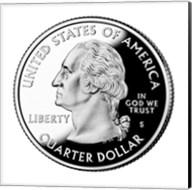 United States Quarter, obverse, 2004 Fine-Art Print