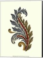 Jacobean Leaf III Fine-Art Print