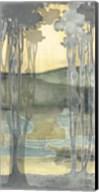 Small Nouveau Landscape I Fine-Art Print