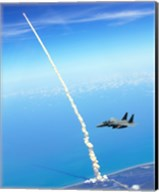 4th FW Strike Eagles Assist Shuttle Launch Fine-Art Print