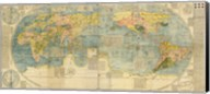 Japanese World Map Fine-Art Print