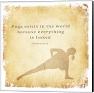 Yoga Exists Fine-Art Print