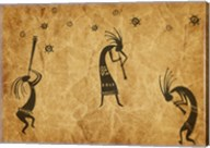 Kokopelli Jamming Fine-Art Print