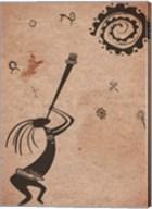 Kokopelli Playing Under the Sun Fine-Art Print