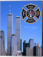 9/11 Never Forget Fine-Art Print