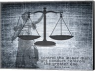 Justice Law Mark Twain Quote Fine-Art Print