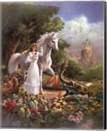 Maiden and Dragon Fine-Art Print