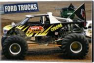 Cyborg Monster Truck Fine-Art Print
