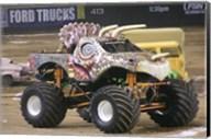Jurassic Attack Monster Truck Fine-Art Print