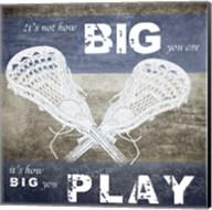 How Big You Play Fine-Art Print