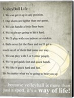 Volleyball Life Fine-Art Print