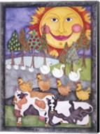 Old MacDonald Cows Fine-Art Print