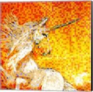 Unicorn Collage Fine-Art Print