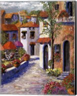 Mediterranean Shade I Fine-Art Print
