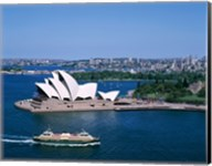 High angle view of an opera house, Sydney Opera House, Sydney, Australia Fine-Art Print