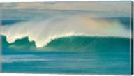 Curling wave in the sea, Sleaford Bay, Australia Fine-Art Print