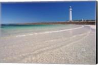 Lighthouse on the coast, Point Lowly Lighthouse, Whyalla, Australia Fine-Art Print