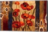 Ikat Floral Tapestry Fine-Art Print
