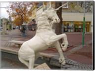 Unicorn Statue Fine-Art Print