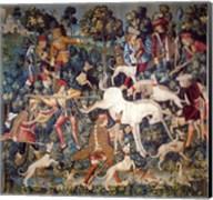 The Hunt of the Unicorn Tapestry Fine-Art Print