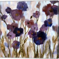 Abstracted Florals In Purple Fine-Art Print