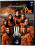 STS 118 Mission Poster Fine-Art Print